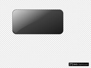 Blank Black Button