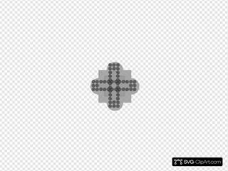 Spiral Cross Design