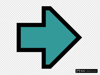 Green Right Arrow