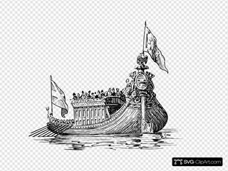 Barge Pleasure Ship