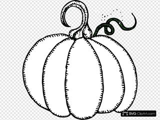 Pumpkin SVG Clipart
