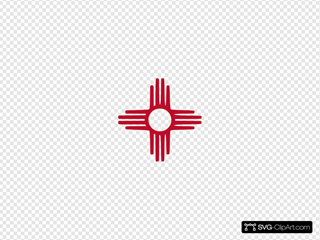 Black Knight Badminton Squash New Mexico Flag