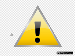 Warning Icon Clipart