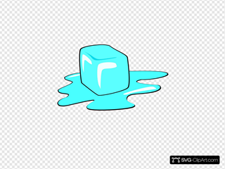 Ice Cube SVG Clipart