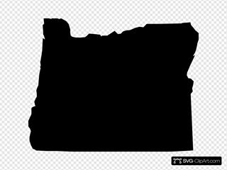 Oregon State Shape
