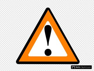 Black Orange Warning 1