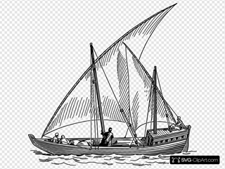 Dhow Sail Boat