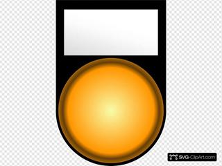 Fatboy Voyant Orange Allume Orange Light On