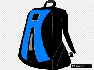 Blackbluebackpack