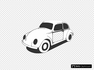 Vw Beetle Classic Black White Line Art Coloring Sheet Colouring Page Px