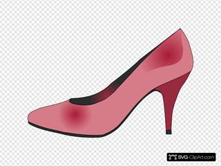 High Heels Red Shoe