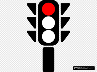 Traffic Semaphore Red Light