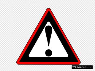 Red Black Warning 1