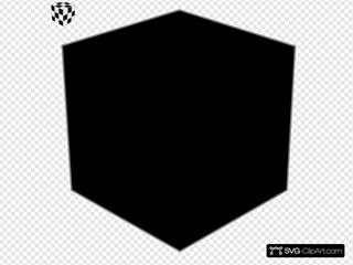 Rubik Cube Black & White