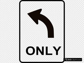 Left Only Direction