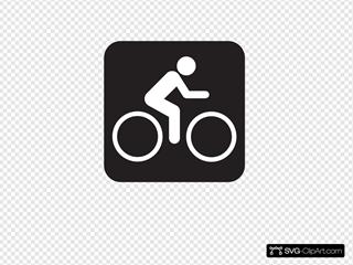 Bicycle Trail Black