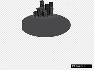 City Landscape SVG Clipart