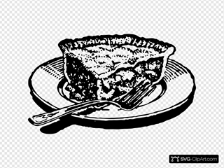 Slice Of Pie SVG Clipart