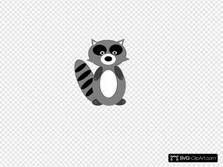 Raccoon No Smile