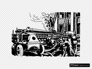 Automobile Fire Engine