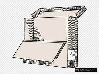 Shelf Box Open