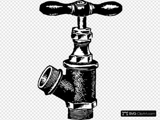 Faucet SVG Clipart