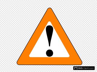 Apr Orange Black Warning