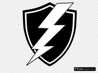 Black And White Shield