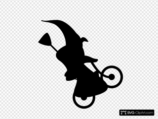 Witch On Bicycle