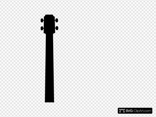 Black Guitar Image