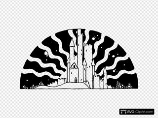 Black And White Castle