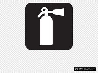 Fire Extinguisher Black