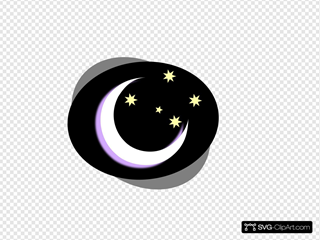 Black Night Moon