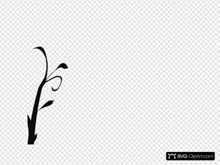 Branch Vine Swirl