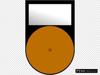 Fatboy Voyant Orange Eteint Orange Light Off