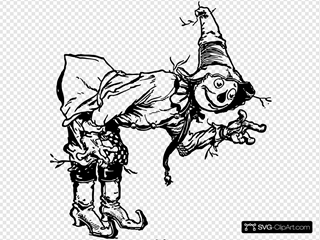 Scarecrow Bowing