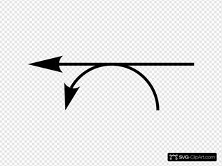 Left Double Arrow Link