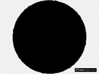 Rough-cut Circle