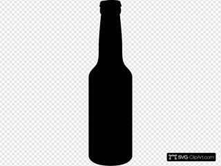 Beer Bottle (plain Bw Shape)