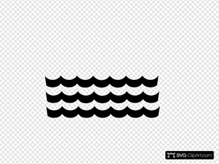 Wave Pattern Black