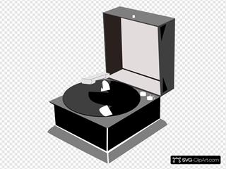 Nubbs Phonograph B&w