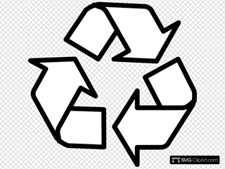 Recycling Symbol Outline