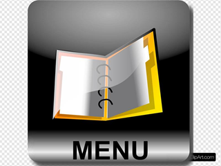 Square Menu Text Black