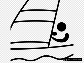 Sailing Pictogram