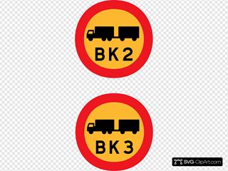 Trucks Signs SVG Clipart