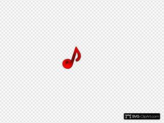 Rebblack Music Note
