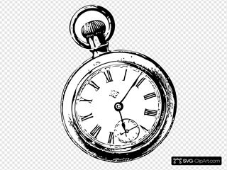 Pocket Watch Sketch