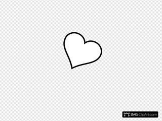 Black Heart Tilted