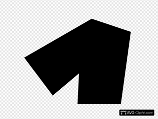 Number One (black) SVG Cliparts