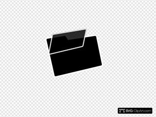 Black And White Folder